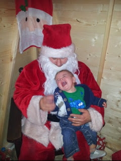 Jack's first visit to Santa