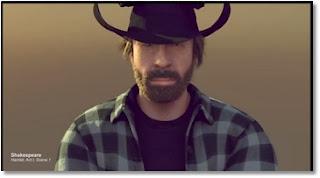 Chuck Norris plus fort que Van Damme