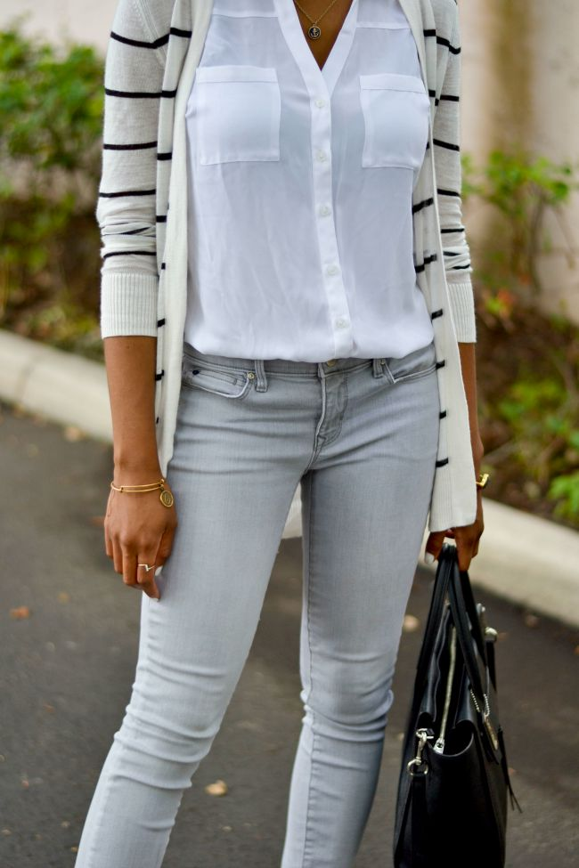 Grey Jeans | Summer Outfits