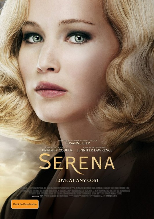 Serena Book to Movie, Bradley Cooper, Jennifer Lawrence, Susanne Bier, Ron Rash, Serena, Delicious Reads