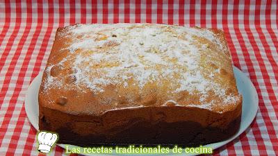 receta del bizcocho tradicional