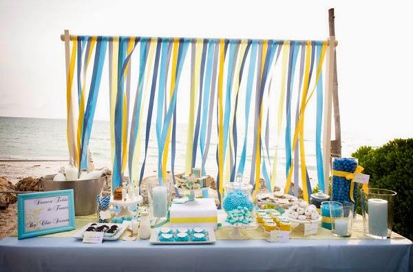 Ideias inspiradoras para festas de adultos design innova for Backdrop para mesa de dulces