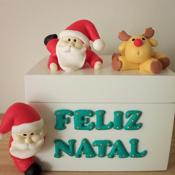 Caixa de Papai Noel
