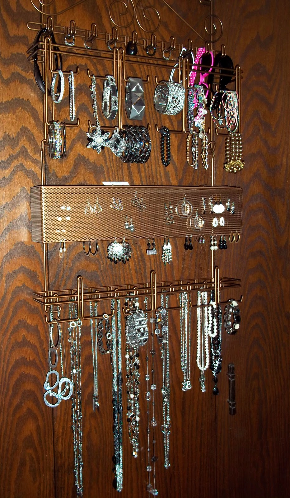 Cheapskate 4 Life Longstem OvertheDoor Jewelry Organizer