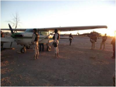 Decomisan aeronave y casi media tonelada; hay dos detenidos C9e4df50bd8345abda97cb89aafd3f15_int470