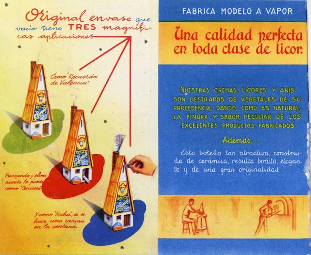 2.-Etiqueta, la barraca, licores, efimera, colecciones museo etnologia Valencia