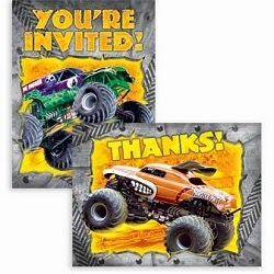 Grave Digger Theme Party Supplies and Birthday Ideas Birthday