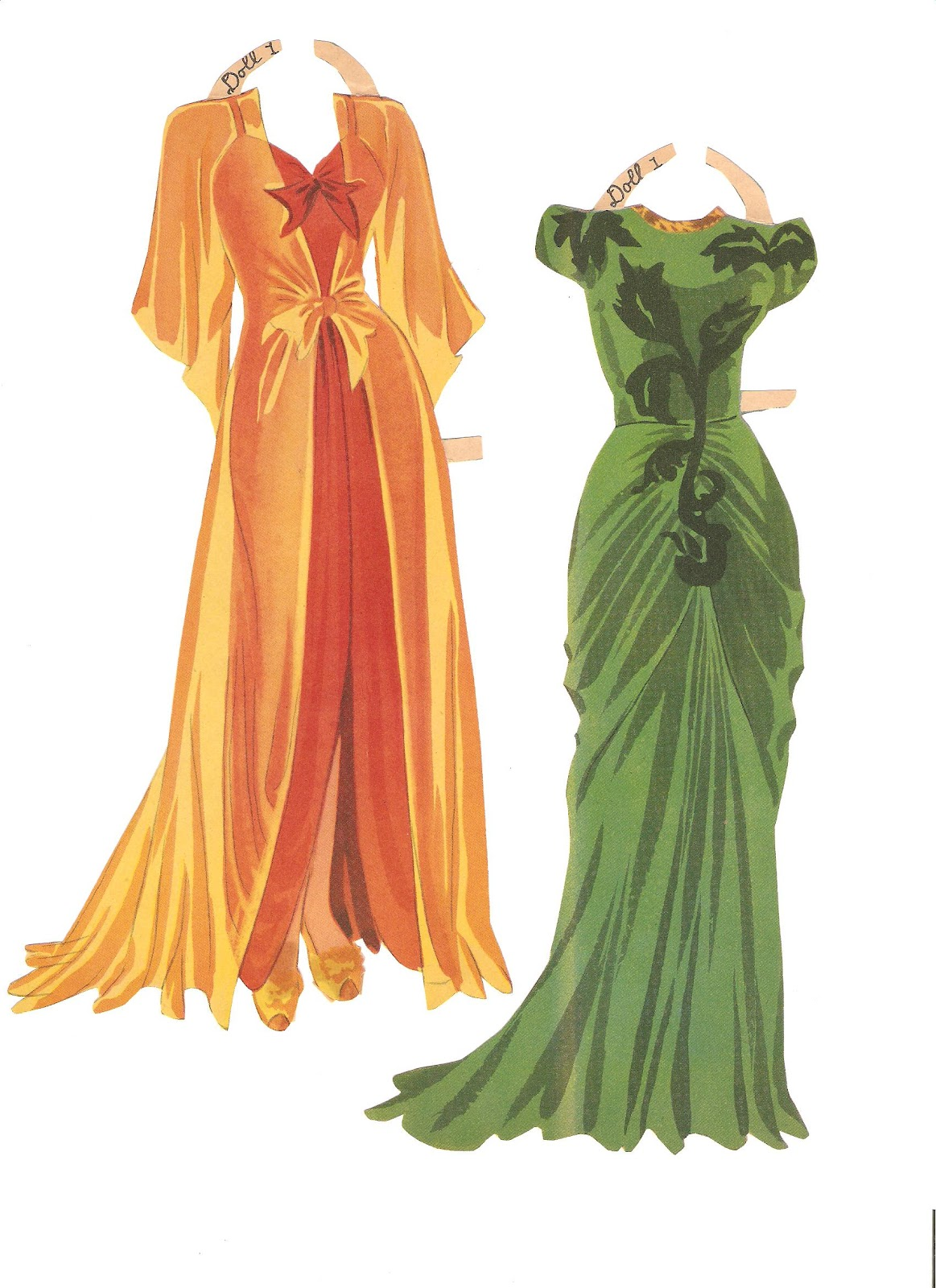 vintage paper dolls Pose, and dress, and design for, your own paper doll have some fun dressing  and posing a paperdoll print out the download:.