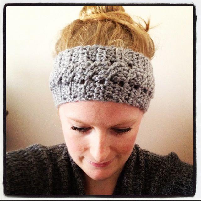 Sadies Basket Cable Stitch Jenna Headband Pattern