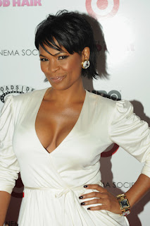 Celebrity Nia Long Hairstyle Pictures