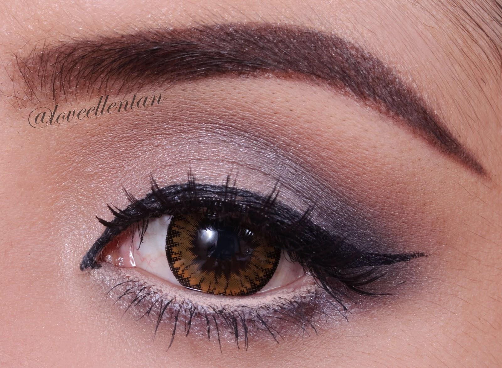 Neutral Grey Eye Makeup Tutorial