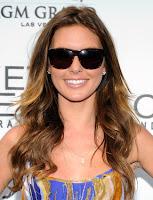 Heart Shape Shaped Audrina Patridge With Sunglasses