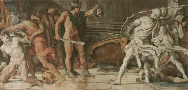 italian baroque,Annibale Carracci ,Perseu