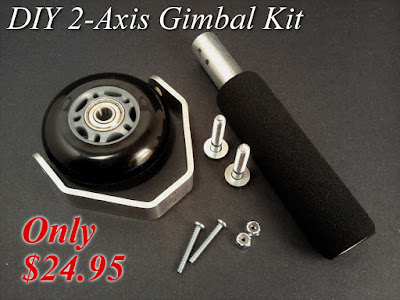 DIY 2-axis Camera Stabilizer Gimbal