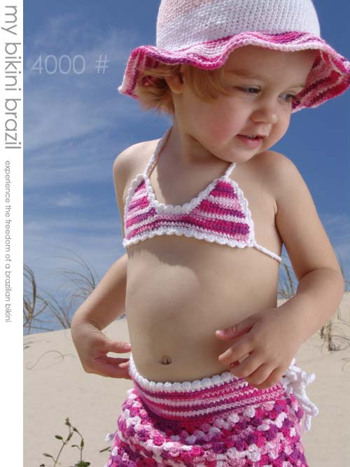Free Knit Bikini Pattern : crochet bikini-Knitting Gallery