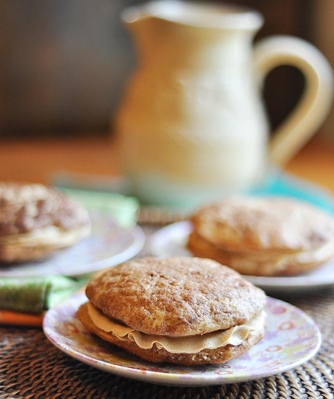 Snickerdoodle Biscoff Sandwich Cookies Recipe — Dishmaps