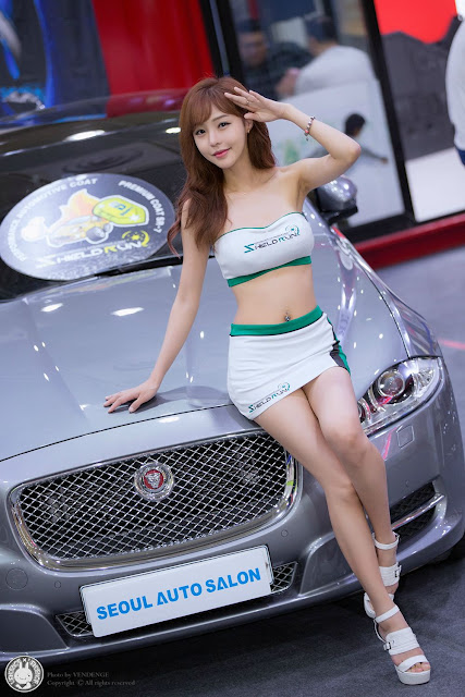 4 Seo Jin Ah - Seoul Auto Salon - very cute asian girl-girlcute4u.blogspot.com