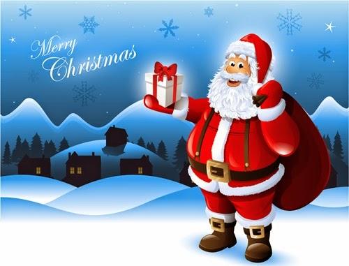 Santa Claus Whatsapp Image