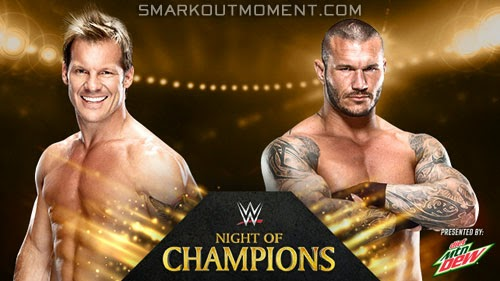 WWE Night of Champions 2014 event Orton vs Jericho match