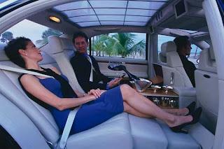 Mercedes Maybach - O conforto duma casa - Bancos recostados