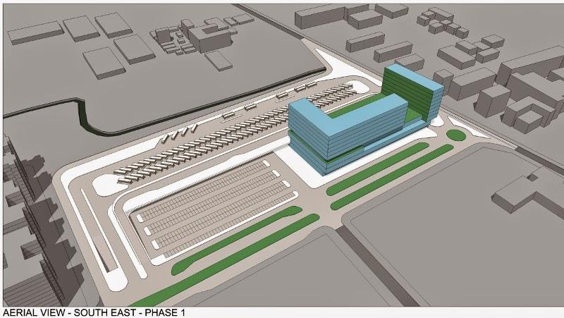 Urban Journal Design Concept Of Bus Terminus Cum Commercial Centre Frozen