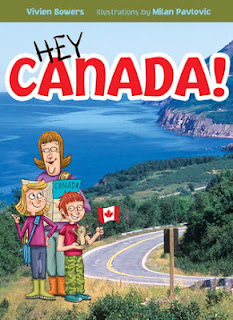 Hey Canada! Travel through pages from coast to coast!