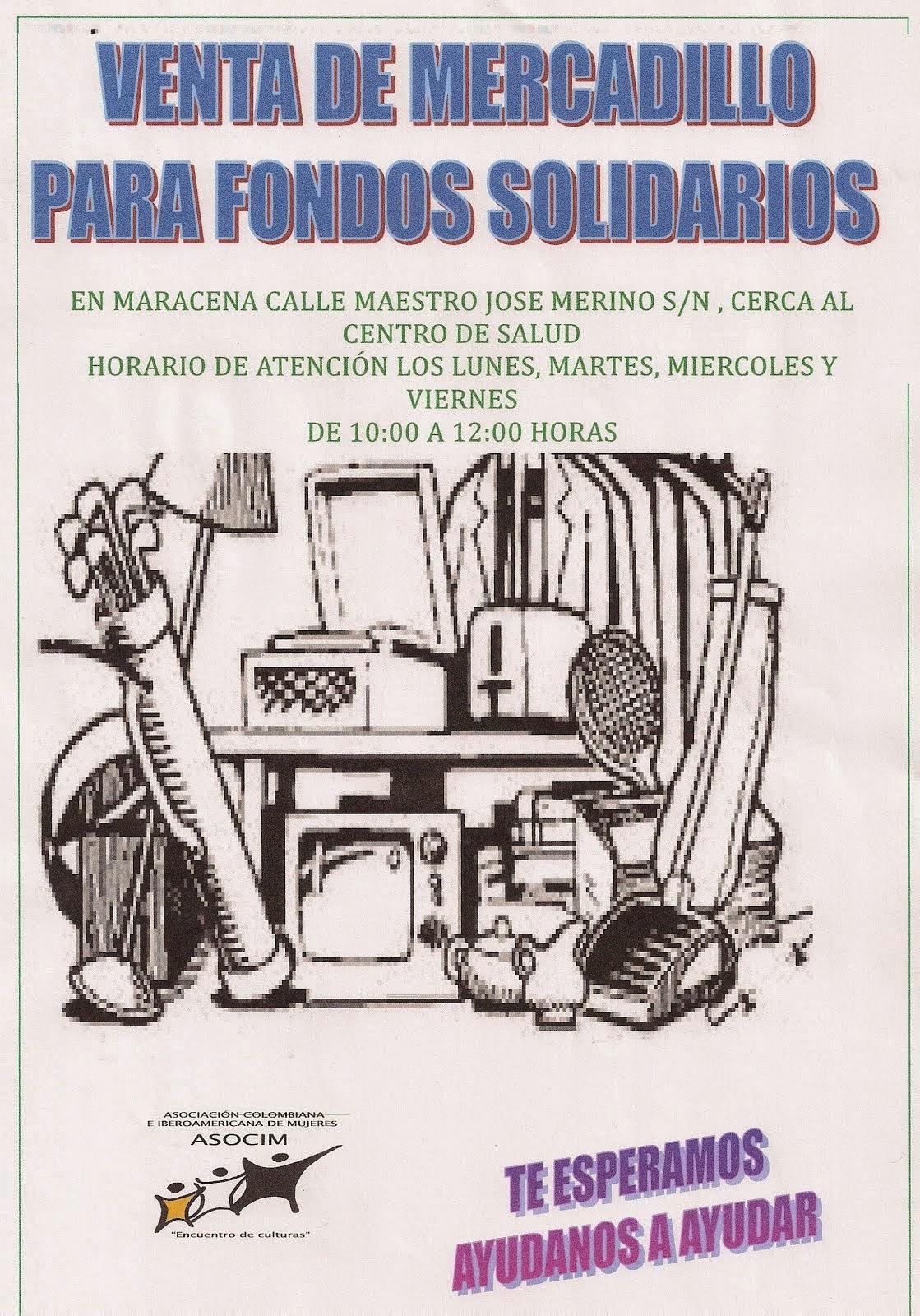 MERCADILLO FONDOS SOLIDARIOS
