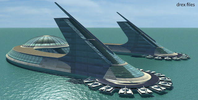 The Greatest Visionary You Never Heard of: Jacque Fresco  Fresco-Sea-City-Design