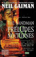 Book cover of The Sandman: Preludes and Nocturnes by Neil Gaiman