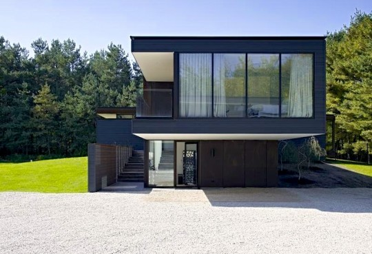 Modern homes exterior canadian designs home decorating for Modern home plans canada