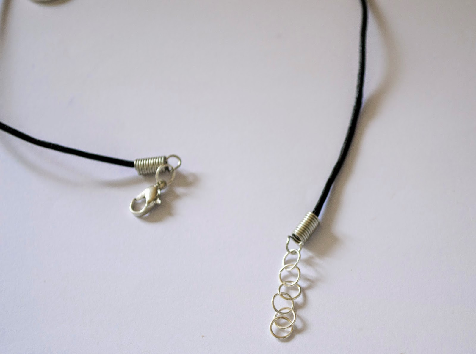 up all diy charm choker necklace
