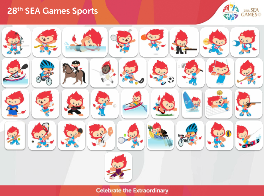 Watchful Eyes Of A Silhouette: 28th SEA Games 2015 Singapore
