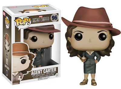 Amazon Exclusive Sepia Tone Edition Agent Carter Pop! Marvel Vinyl Figure by Funko