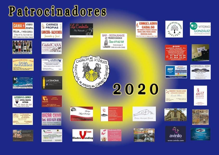 PATROCINADORES 2020