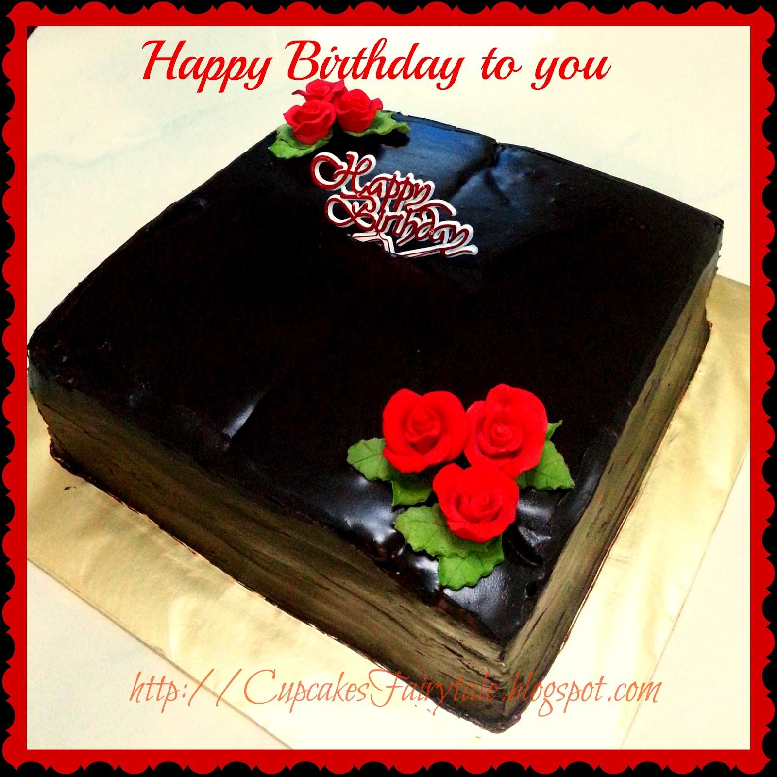 Cupcakes Fairytale: YVONNE YEO'S BIRTHDAY CAKE FOR HUBBY
