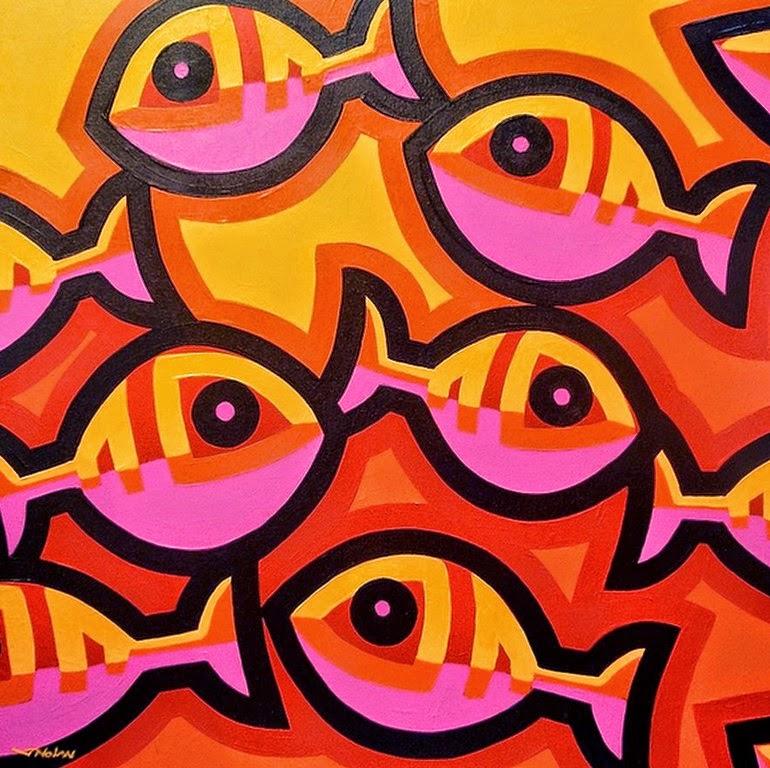 Cuadros pinturas oleos im genes modernas cuadros con peces for Cuadros de peces