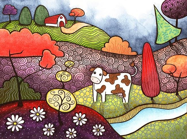 http://www.dailypaintworks.com/fineart/sandra-willard/greener-pastures/199395