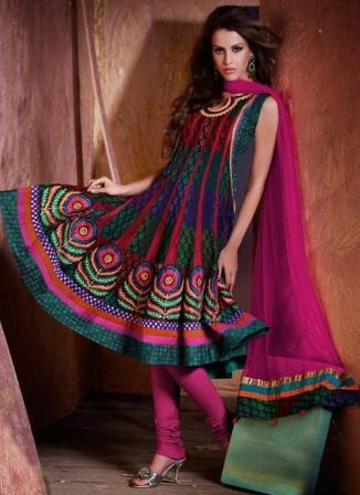 Womens-Anarkali-Churidar-Suits