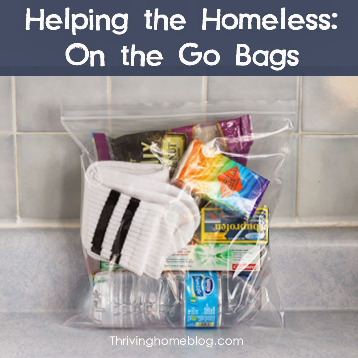 On the Go Bags from Thriving Home