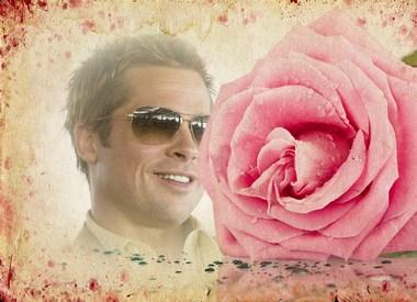 fotomontaje rosa