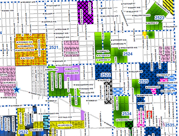 Map of the Week: Mapping the Gangs of Chicago-is there any ...