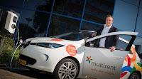 Multirent en MyWheels lanceren elektrische deelauto's in Leiden