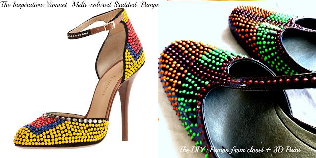 Vionnet Shoe DIY