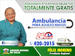 AMBULANCIAS PARA EL ADULTO MAYOR