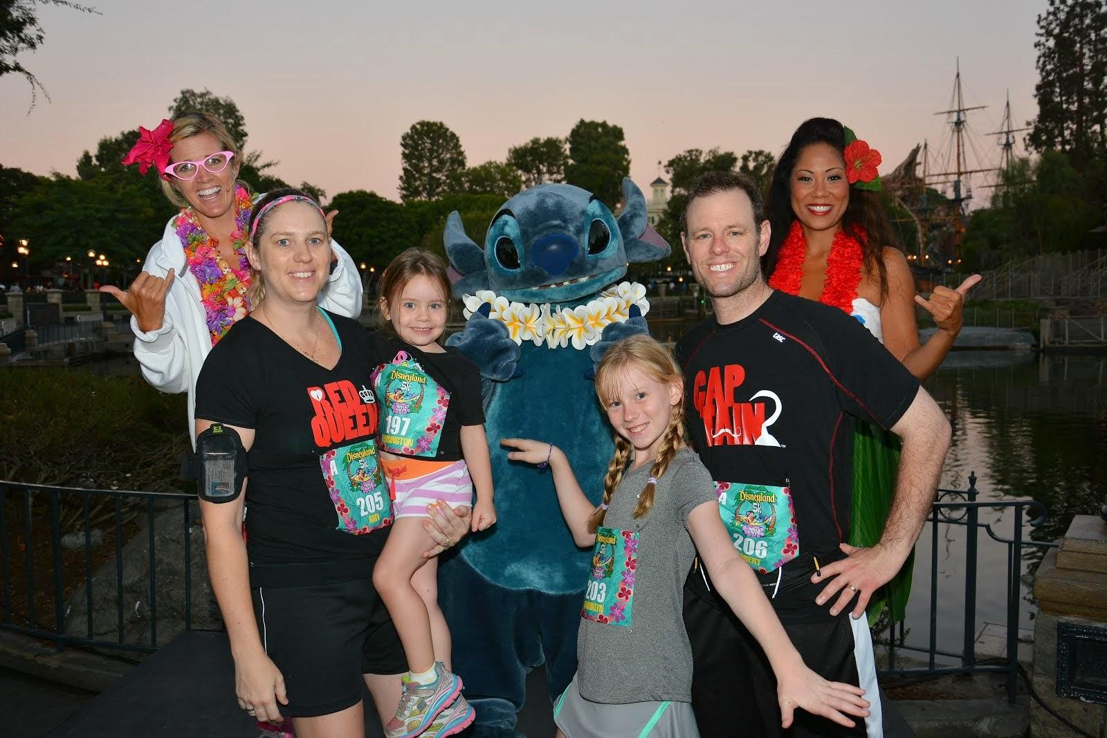 Disneyland Family 5K -2014