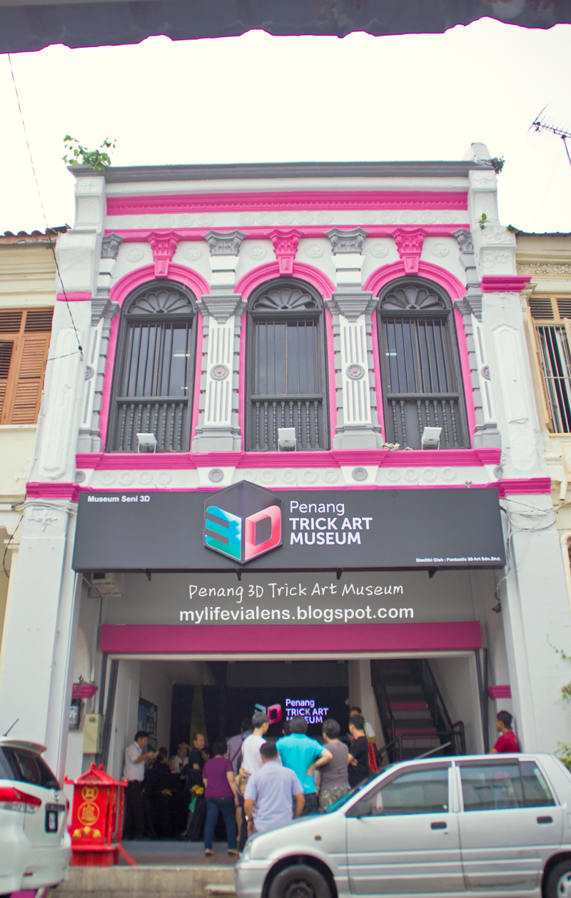 D Exhibition Penang : 我的故摄生活 【penang attraction】penang d trick art museum