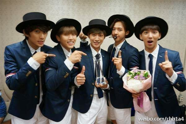 B1A4 #SOLODAY3rdWIN