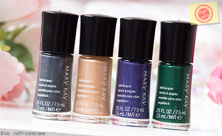 Swatches: Esmaltes Midnight Jewels - Mary Kay