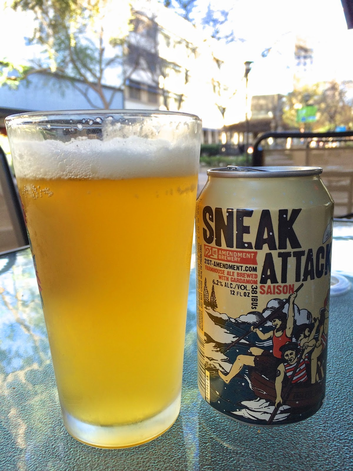 21st Amendment Sneak Attack Saison 1