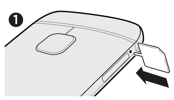 Come inserire SIM HTC One M9